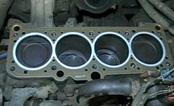 капремонт двигателя, снятие гбц