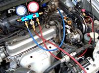 замена хладагента в системе кондиционирования автомобиля